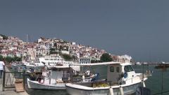 Skopelos island, northern Sporades, Greece. Stock Footage