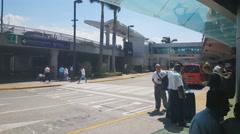 Juan Santamaria International Airport in San Jose CR. Stock Footage
