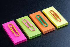 office color clip - stock photo