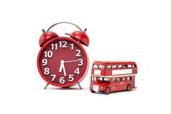 Bus Time - stock photo