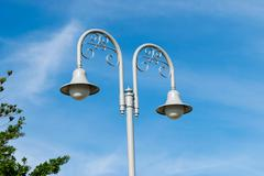 Street Lamps European style Stock Photos