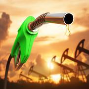 Gasoline Drop Stock Illustration