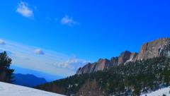 Daytime Big Thach panoram Stock Footage