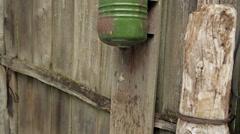 Rural washbasin Stock Footage