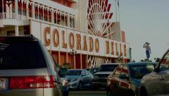 "Colorado Belle Casino w/ ""River Rick"" -  Laughlin, NV Stock Footage"