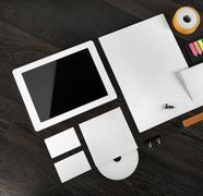 Mockup for branding identity - stock photo
