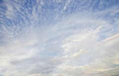 Low angle view of cloudscape Stock Photos