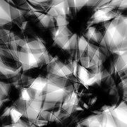 35mm unrolled movie filmstrip blank frames texture - stock photo