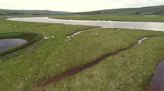 Seven Sisters National Park, Cuckmere river 4K Stock Footage