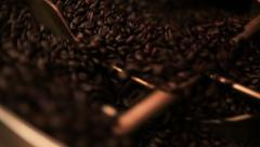 Commercial Coffee Roaster Stock Footage