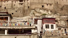 Leh Palace Stock Footage