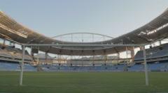 Nilton Santos Stadium (Engenhão Stadium) - Rio de Janeiro - Brazil Stock Footage