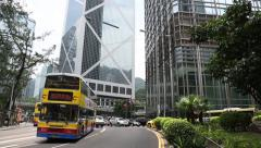 District Central is the business district of Hong Kong Island. Stock Footage