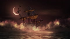 Ghost Ship Stock Footage