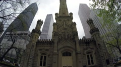 Fourth Presbyterian Church of Chicago - stock footage