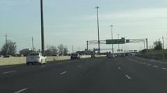 Driving near Trafalgar Road in Oakville, Stock Footage