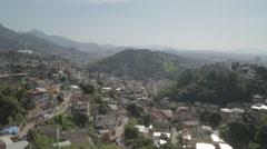 Favela (Slum) - Rio de Janeiro - Brazil Stock Footage
