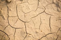 Abstract background of cracked earth Stock Photos