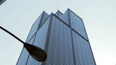 Sears/Willis Tower Cinematic Pan - stock footage