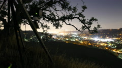 Stock Video Footage of 4K Behind The Scene 3axis Motion Control Time Lapse Rig at LA Hilltop