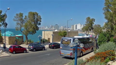 Old Jaffa  embankment Stock Footage
