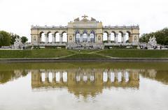 Gloriette in Schonbrunn Palace Stock Photos