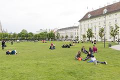 Vienna Austria youth - stock photo