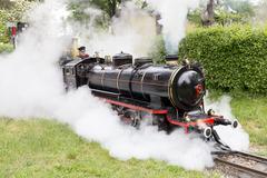 Liliputbahn Prater Park Vienna - stock photo