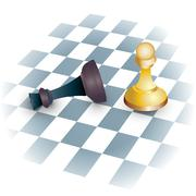 Winning Chess concept Stock Illustration