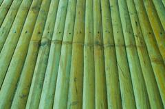 Bamboo in a line background,texture bamboo - stock photo