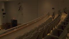 Stock Video Footage of School Auditorium (2 of 2)