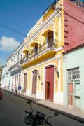 Cuba Havanna Town Streets Villa Finca Habana Impressions - stock photo