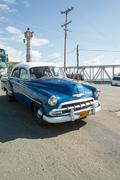 Cuba Havanna Town Streets Oldtimer Car Villa Finca Habana Impressions Stock Photos