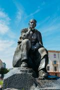Stock Photo of Monument In Honor Of The National Poet And Writer Of Belarus Yak