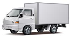 Delivery / Cargo Truck Stock Illustration