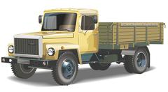 Truck Stock Illustration