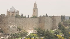 Tower of David - stock footage