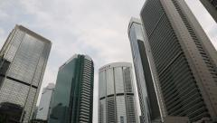 District Central is the business district of Hong Kong Stock Footage