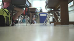 Students working in classroom (14 of 17) - stock footage