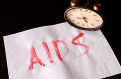 Word Aids Text Stock Photos