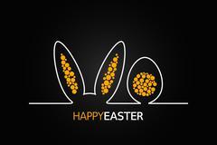 Easter design background Stock Illustration