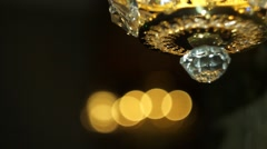 Lamp to Club Stock Footage