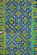 Ornated tiles, arabian style Stock Photos