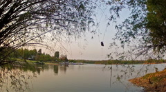 Huai Tung Thao lake Stock Footage
