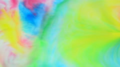 Colors of a rainbow mix up Stock Footage