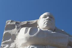 Stock Photo of Martin Luther King's face