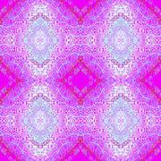 Stock Illustration of Seamless pattern purple blue