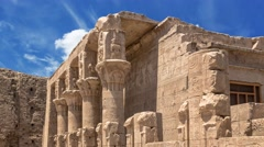 Stock Video Footage of Egyptian temple
