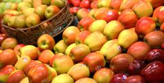 Stock Photo of group of apples