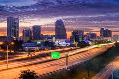 Orlando Florida USA skyline - stock photo